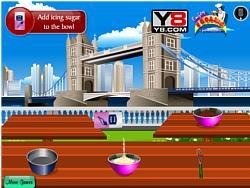 London Cake Cooking game