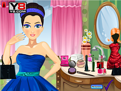 Prom Princess Make over game