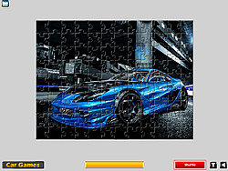 Cool Car Puzzle game