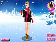 Dressup Winter Girl game