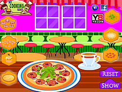 Dinner Pizza Maker game