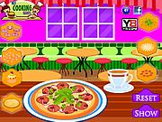 Dinner Pizza Maker game