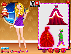 BarBie's Christmas with Kids game