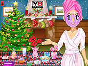 Christmas Sara Makeover game