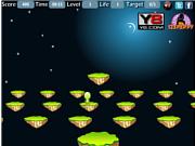 Juega al juego gratis Alien Jumping