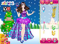 Christmas Princess Dress Up game