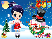 Merry Christmas-Noel and Snowman game