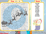 Reindeers Word Search game