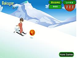 Bakugan Ski game