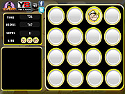 Popeye Memory Tiles game