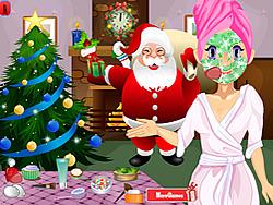 Christmas Sara Make up game