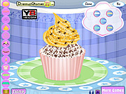 cup cake decor game