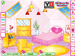 Roof Room Decoration game