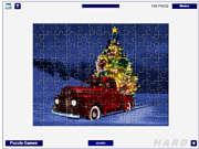 Christmas Tree Delivery Jigsaw game