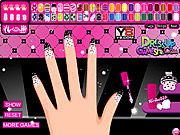 Draculaura Manicure Game game