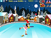 Christmas Skating Collector game