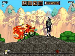 Naruto Bike Mission game