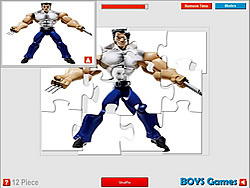 Wolverine Action Puzzle game