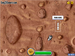 Mars Rover Parking game