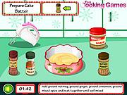 Cooking Christmas Cake game