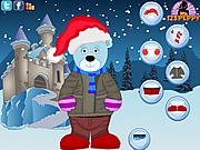 Christmas Bear Dress Up game
