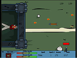 Castle Defend game