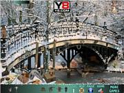 Snowy bridge game