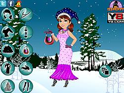 Merry Christmas Girl Dress Up game
