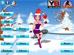 Winter Christmas Dress Up game