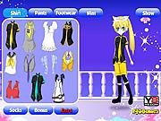 Dress Up Anime Girl game
