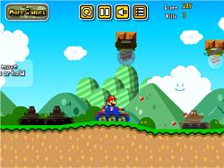 Mario Tank Adventure game