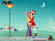 Christmas Treat Kiss game