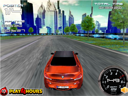 Virtual Rush 3D game