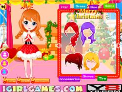 Royal Three Sisters' Christmas game