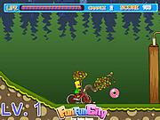 Juega al juego gratis The Simpson Bike