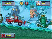 Spongebob's Snow Plow game