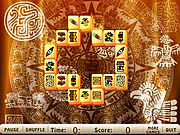 Maya Tower Mahjong game