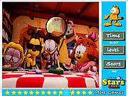เล่นเกมฟรี Garfield Hidden Stars
