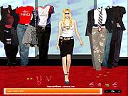 Avril Lavigne Dress up game
