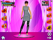 Victoria Beckham Dress Up game