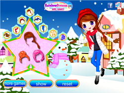Joyful Snow Doll game