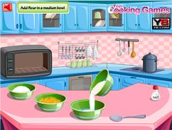 Lemon Cake Cooking game