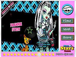 Frankie Stein Hidden Stars game