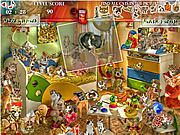 Cats Room game