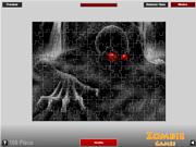 Spiel das Gratis-Spiel  Scary Zombie Puzzle