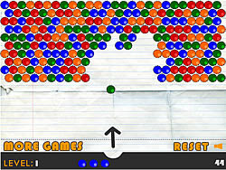 Notepad Bubbles game