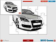 Audi Super Car Puzzle game