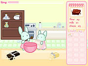 Play Bunnies kingdom cooking game Game