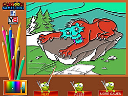 Ice Age Coloring game