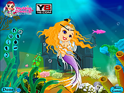 Mermaid Wedding game